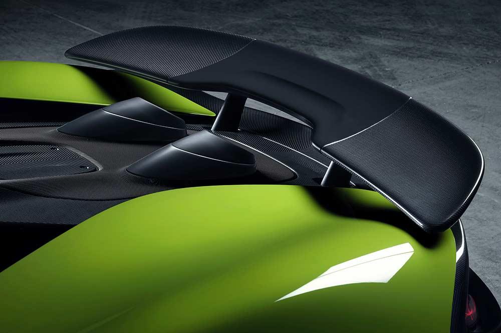 McLaren 600LT Spider Heckspoiler aus Carbon
