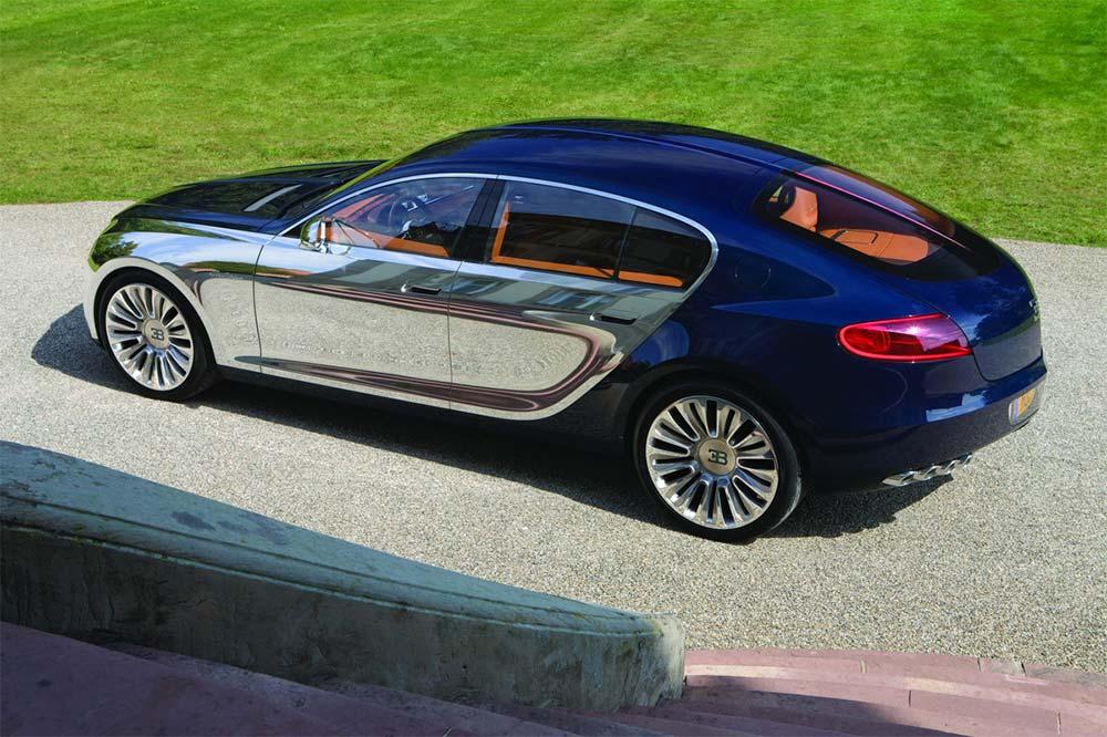 Bugatti 16 C Galibier Concept aus dem Jahr 2009