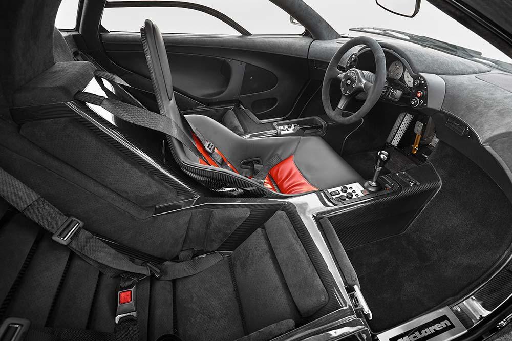 MSO McLaren F1 Sitze