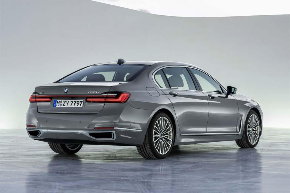 Neue BMW 7er Reihe - Heckansicht