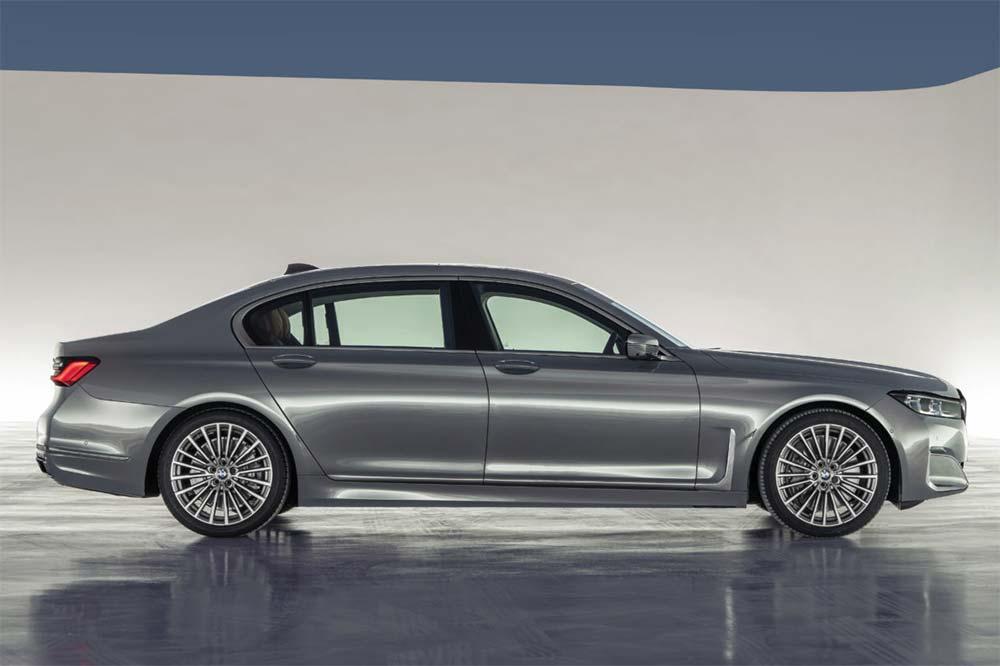 Neue BMW 7er Reihe - Seitenansicht