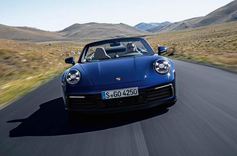 Neues Porsche 911 Cabriolet