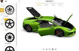 Online Konfigurator Lamborghini EVO