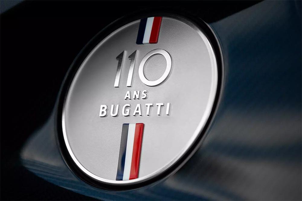 Jubiläums-Bugatti mit 110 ans Bugatti Tankverschluss