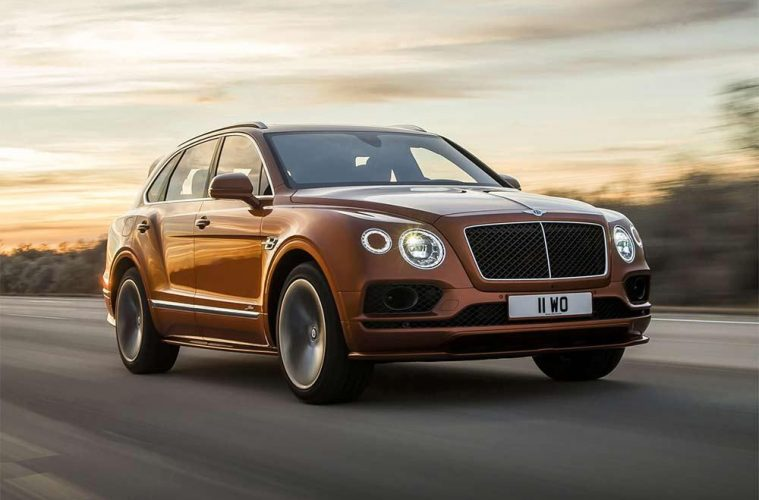 Bentley Bentayga Speed - Edler Luxus-SUV