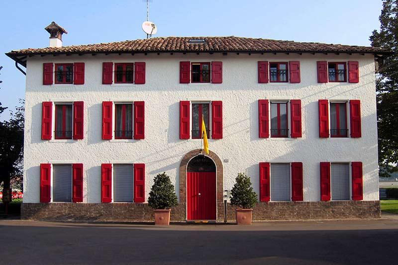 Die Casa Ferrari in Maranello