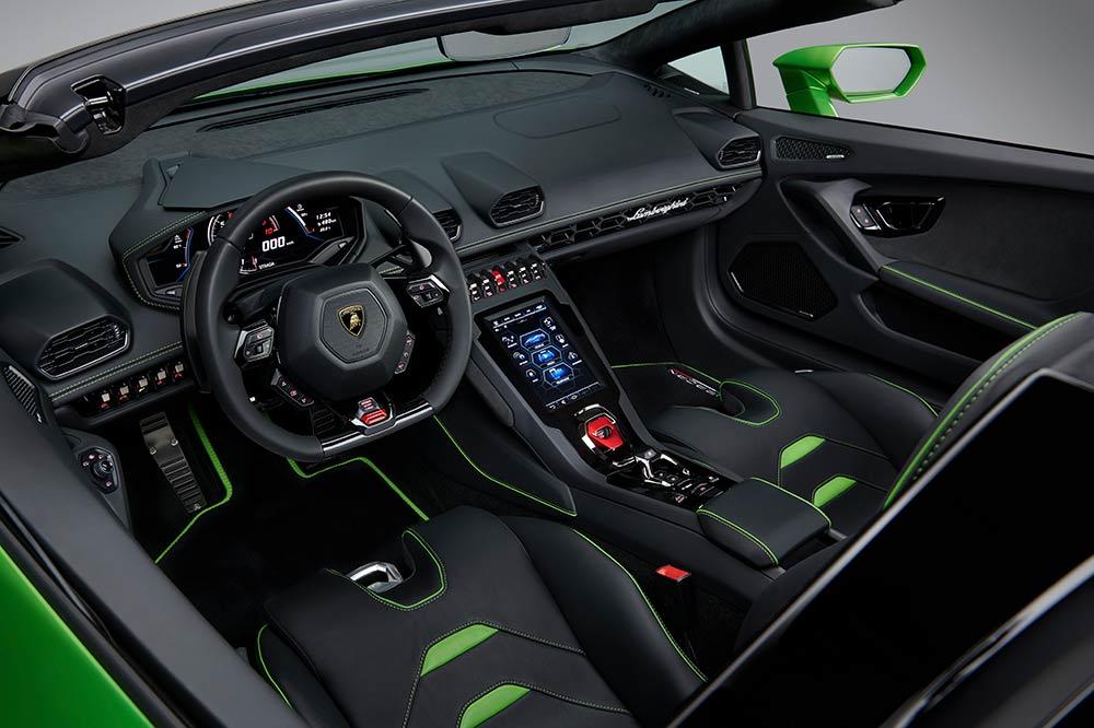 Lamborghini Huracan Evo Spyder - Interieur