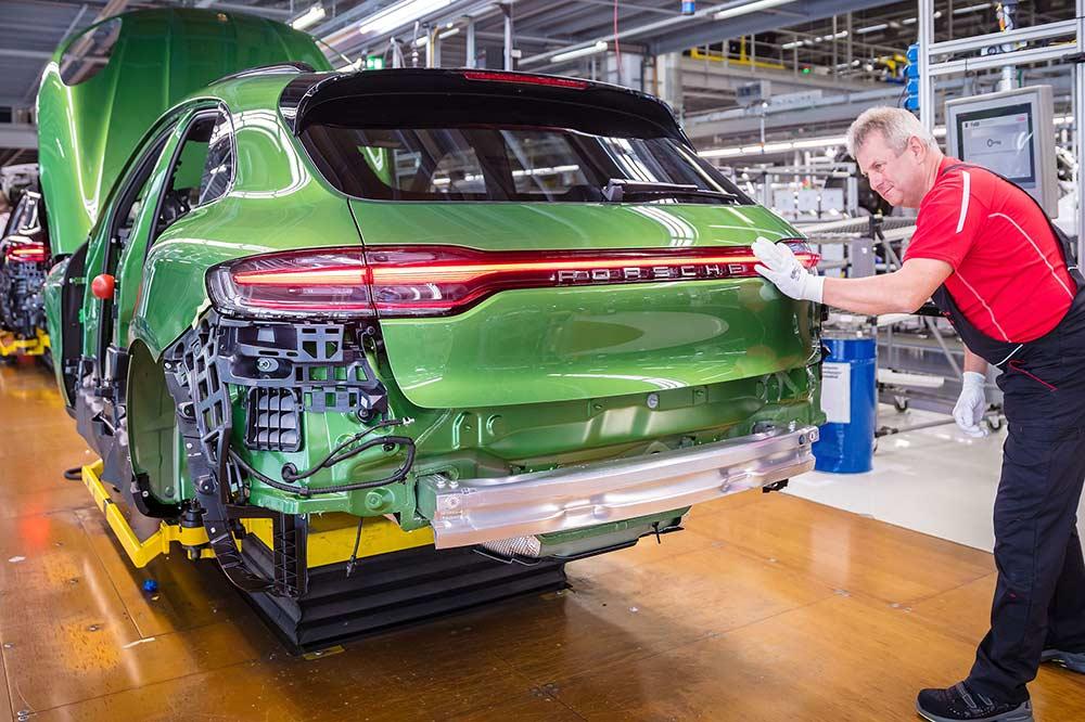 Porsche Macan-Produktion in Leipzig