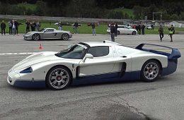 Supercar Owner Circle Drag Race