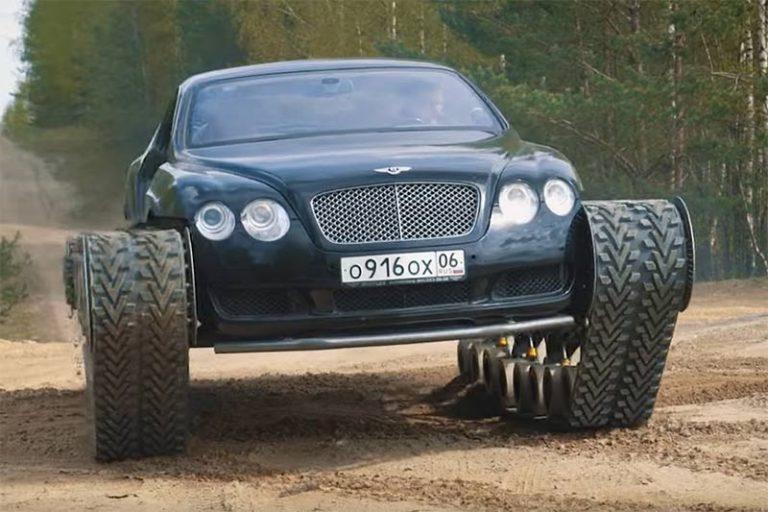 Bentley Continental GT Panzer