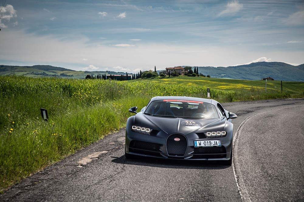 Bugatti Chiron Mille Miglia 2019