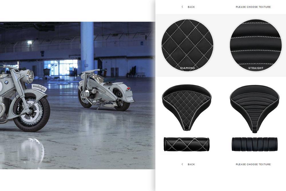 NMOTO Nostalgia BMW Konfigurator