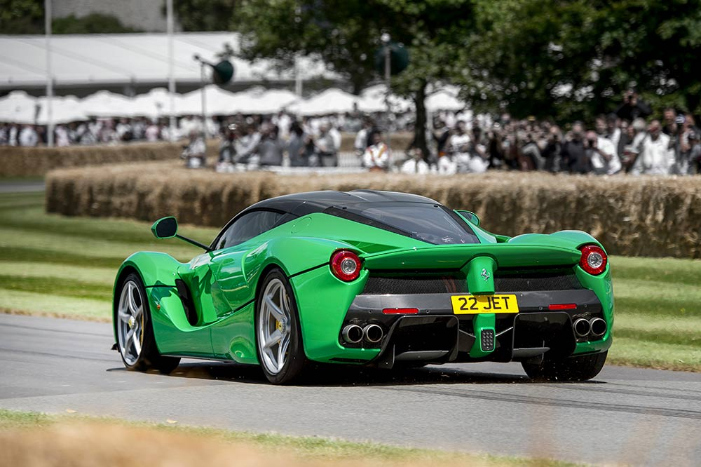 Ferrari La Ferrari in Goodwood