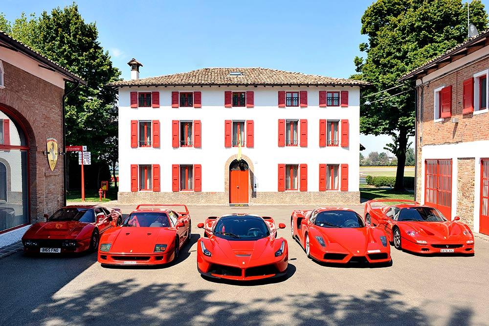 Die Ferrari Familie in Maranello