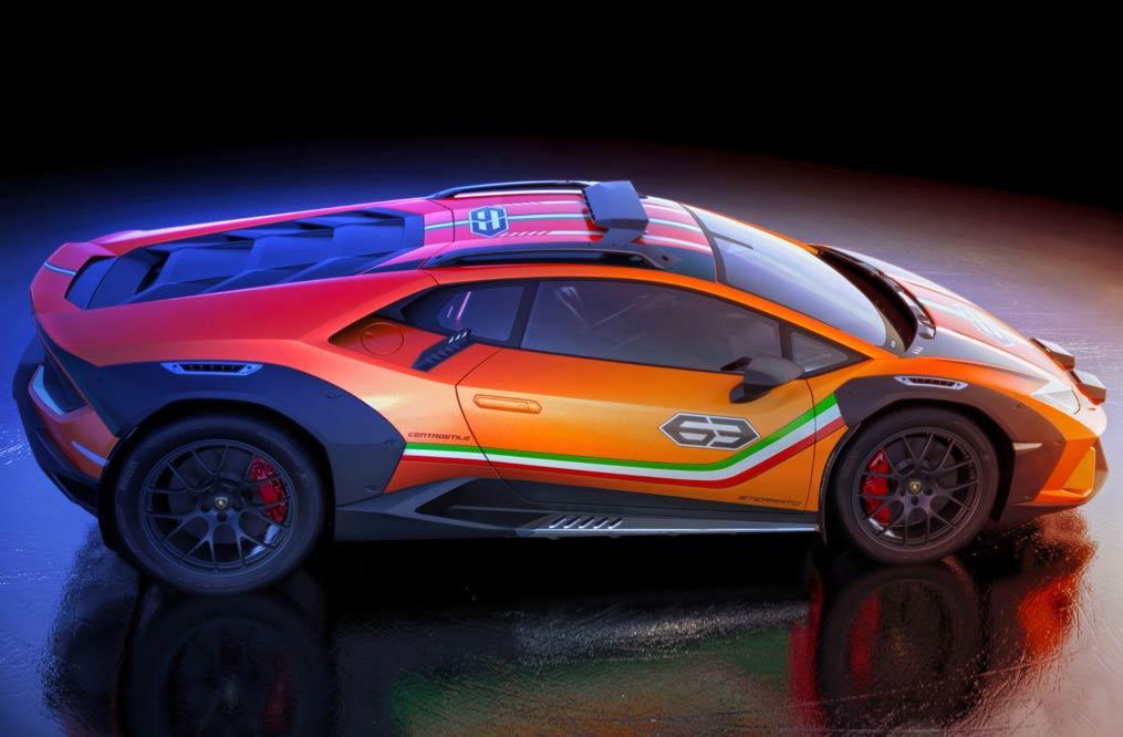 Offroad-Lamborghini Sterrato