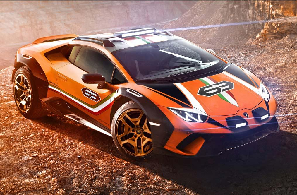 Lamborghini Huracan Sterrato Rallye-Konzeptfahrzeug