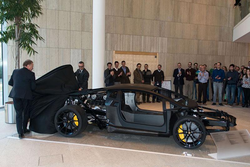 Lamborghini Monocoque