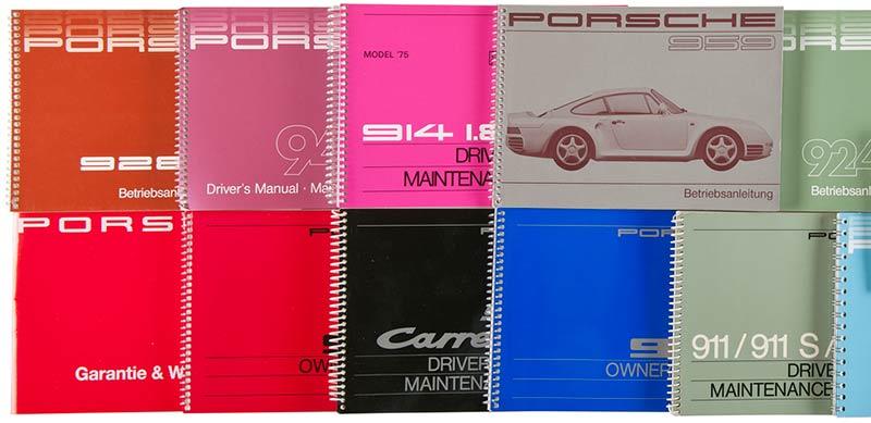 Porsche Bedienungsanleitungen