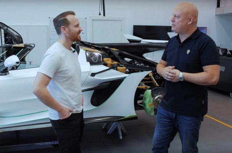 Video Produktion Koenigsegg Jesko