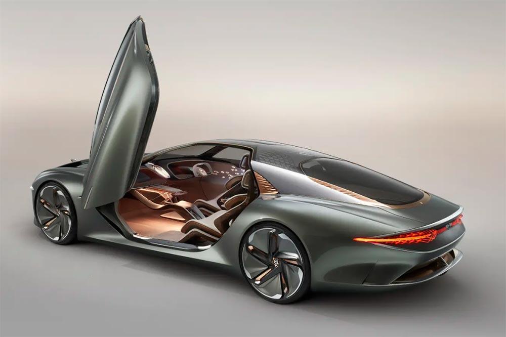 Bentley EXP 100 GT - Die Autonom fahrende Luxuslimousine
