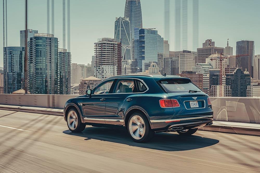 Bentley Bentayga Hybrid mit Elektromotor