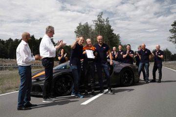 Bugatti Chiron Weltrekord