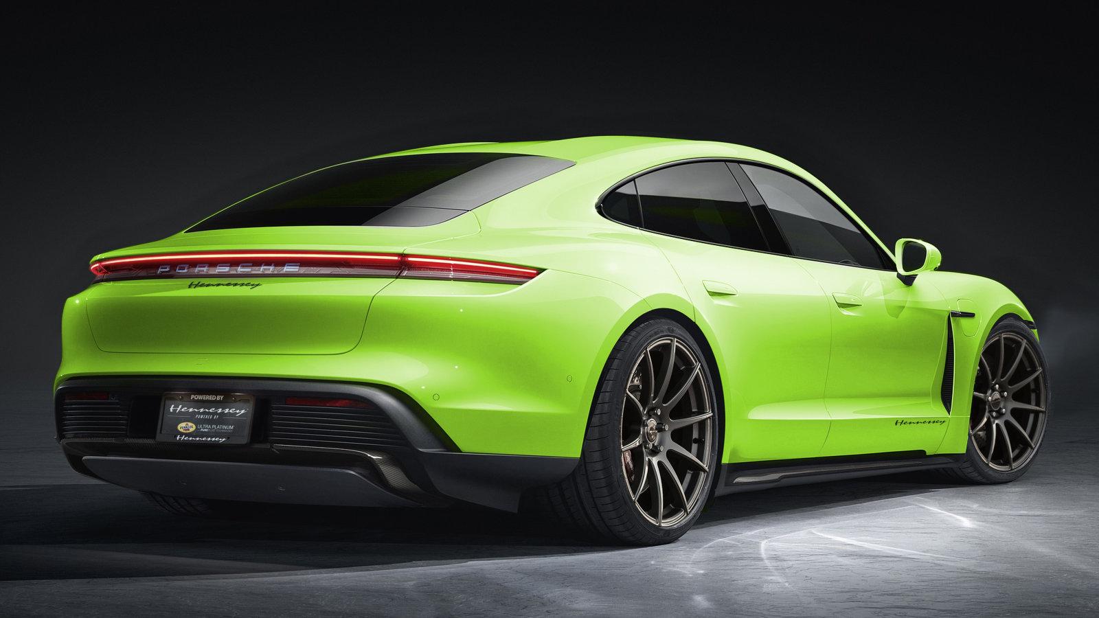 Porsche Taycan Hennessey Performance Elektrosportwagen