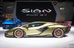 Videos Lamborghini Sian
