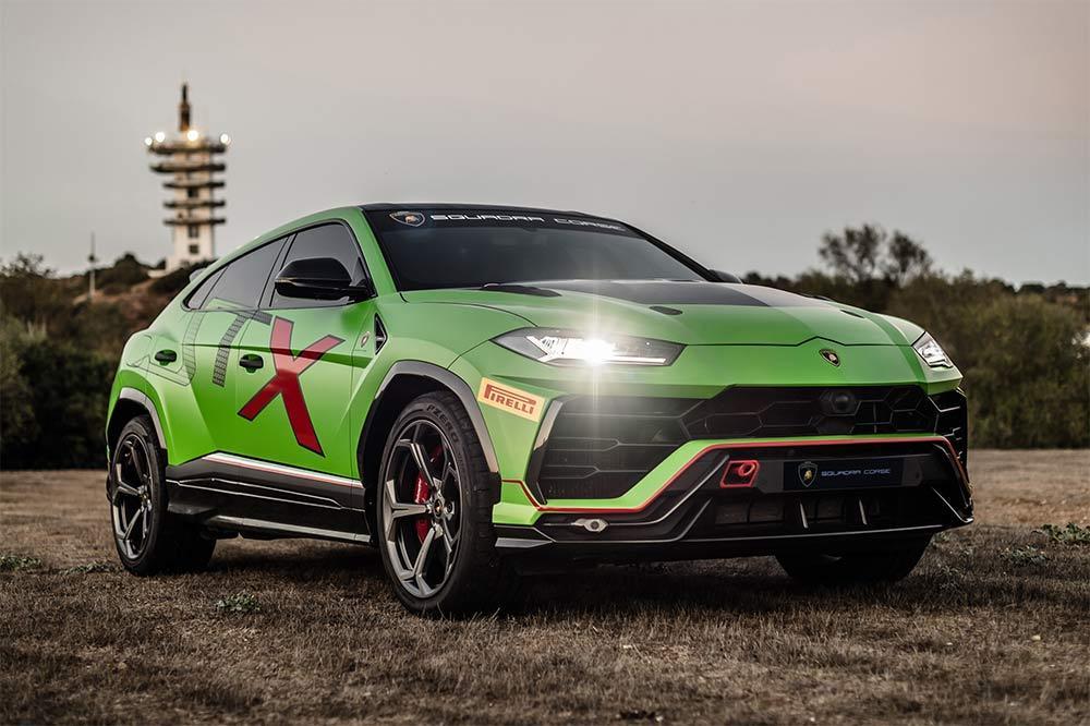 Der Stier für die Rennstrecke - Lamborghini Urus ST-X
