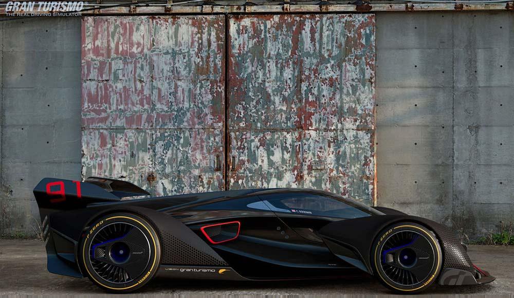 McLaren BC03 - Aus der virtuellen in die reale Welt transformiert