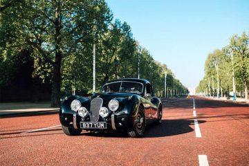Jaguar - Oldtimer mit Elektromotor