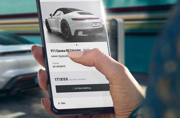 Porsche online kaufen