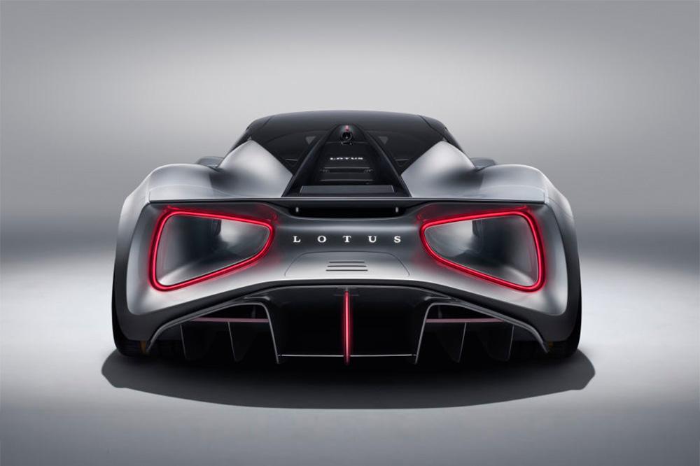Vollelektrisches Hypercar Lotus Evija