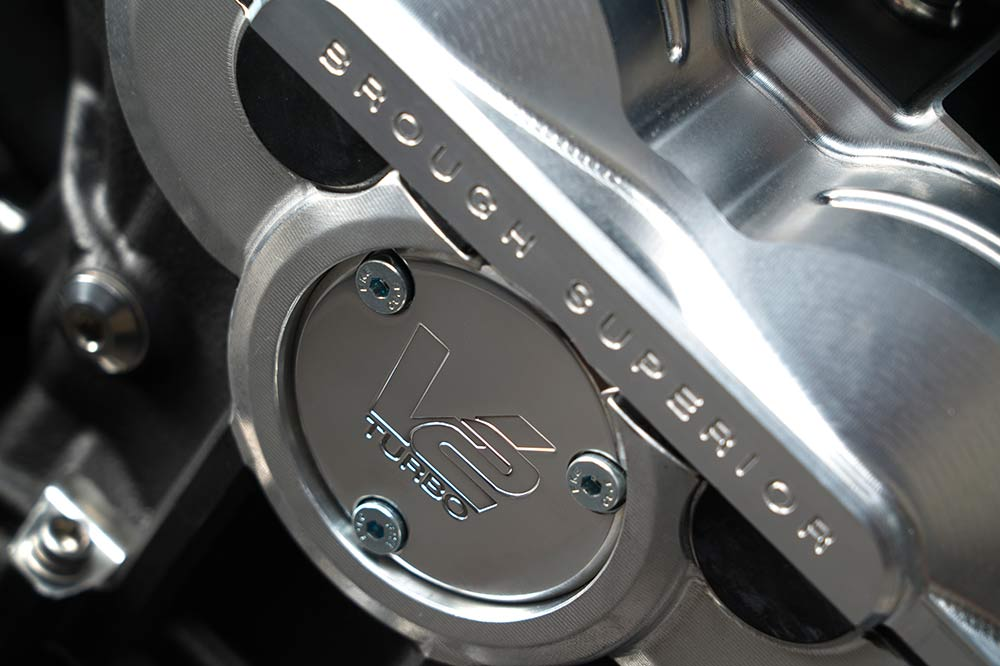 V2-Motor des AMB 001 Bikes