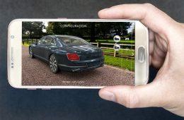 Bentley Augmented Realilty App