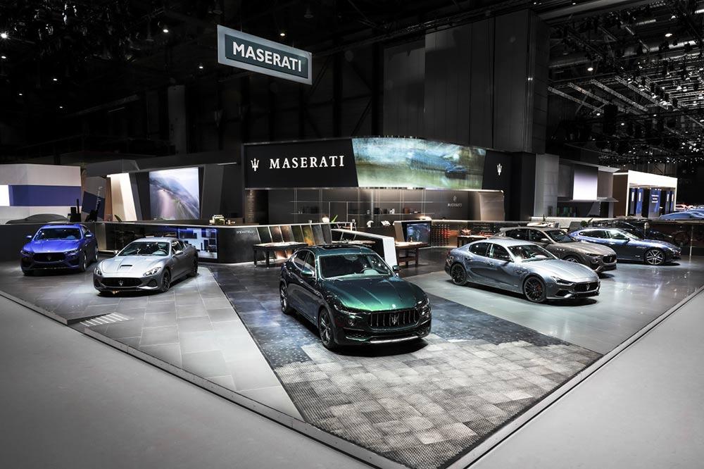 Die Maserati-Produktpalette auf dem Genfer Automobilsalon 2019
