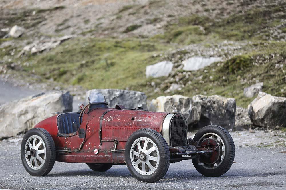 Bugatti Type 35C Grand Prix aus dem Jahre 1928