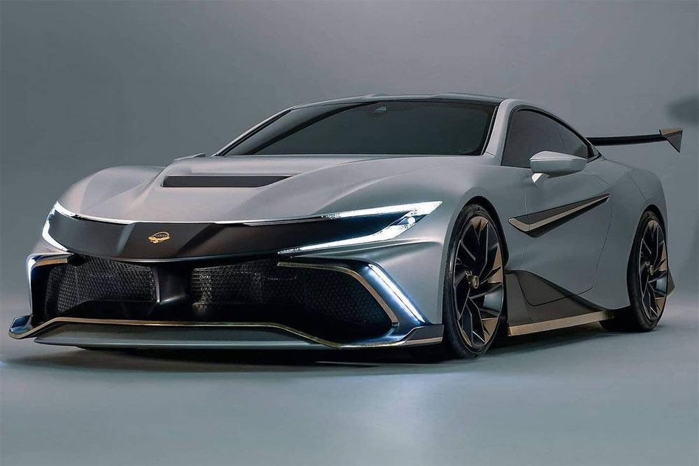 Mit über 1000 PS ist der Naran ein viersitziger Supersportwagen
