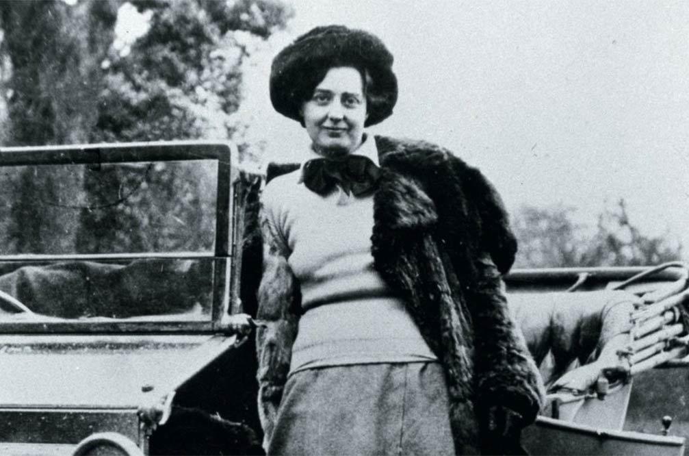 Eleanor Thornton als Muse für die Flüsterin
