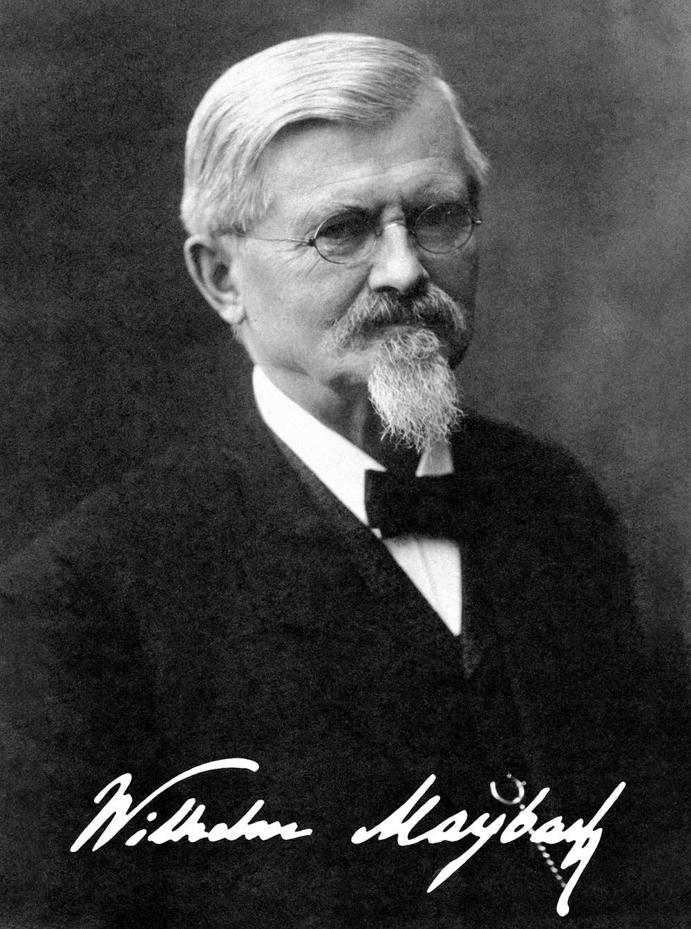 Wilhelm Maybach (9. Februar 1846 - 29. Dezember 1929)