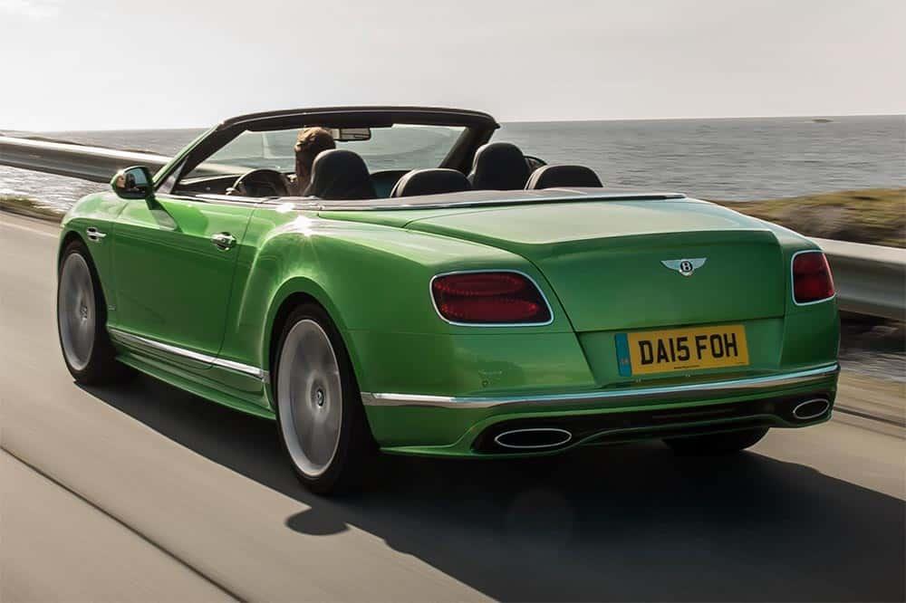 Bentley Continental GT Speed Cabriolet