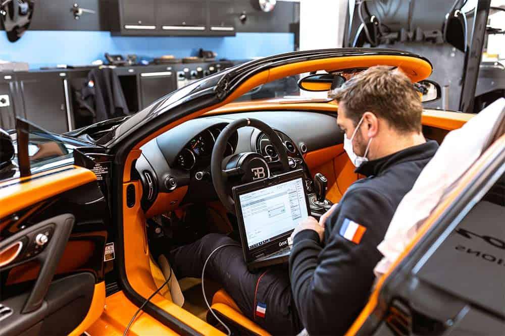 Passeport Tranquillite erhöht den Wert des Bugatti