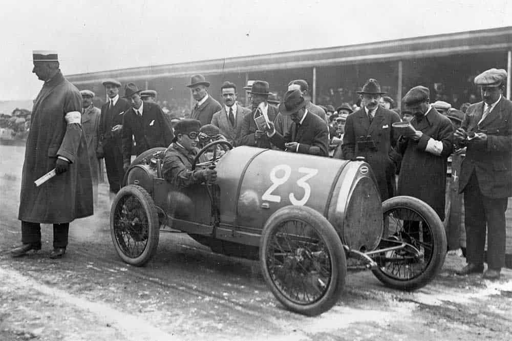Der etwas längere Bugatti Type 23