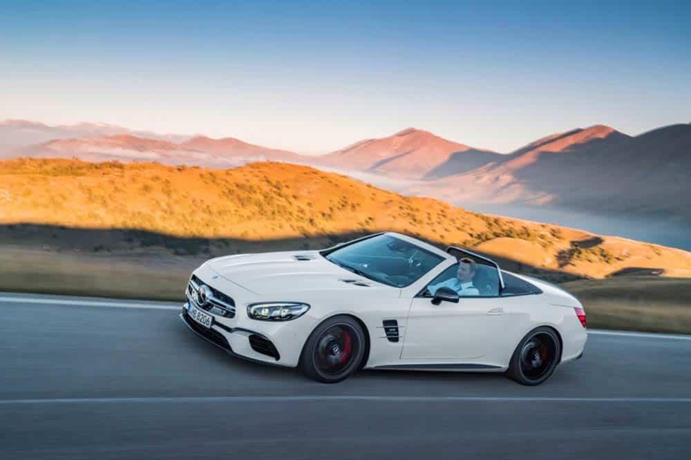 Mercedes-AMG SL 63 (R 231). Produktionszeitraum der Baureihe 2012 bis 2020.