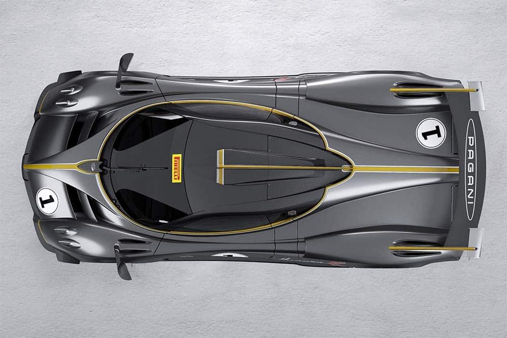 Der neue Track-only-Rennwagen von Pagani