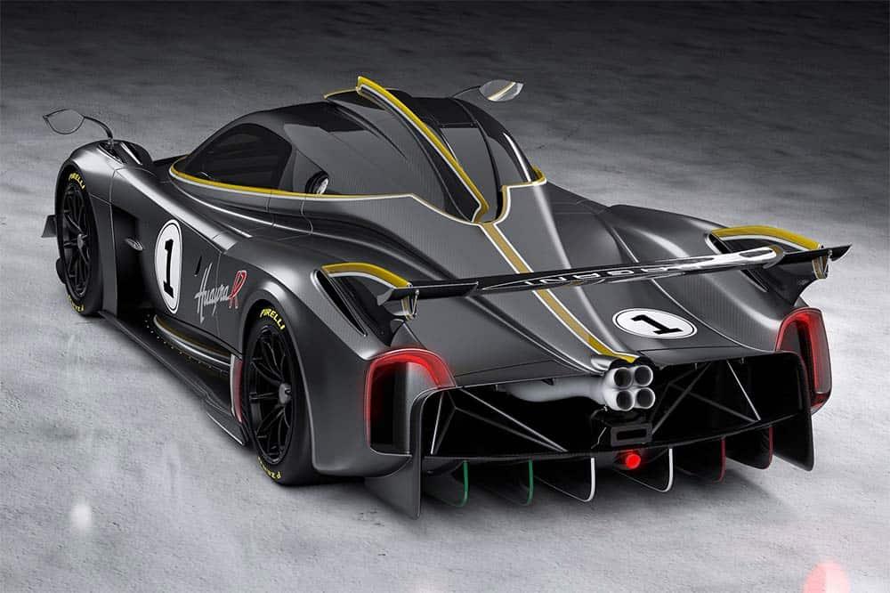 Traumhaftes Design auch im Heck - Schöner kann ein Rennwagen nicht aussehen