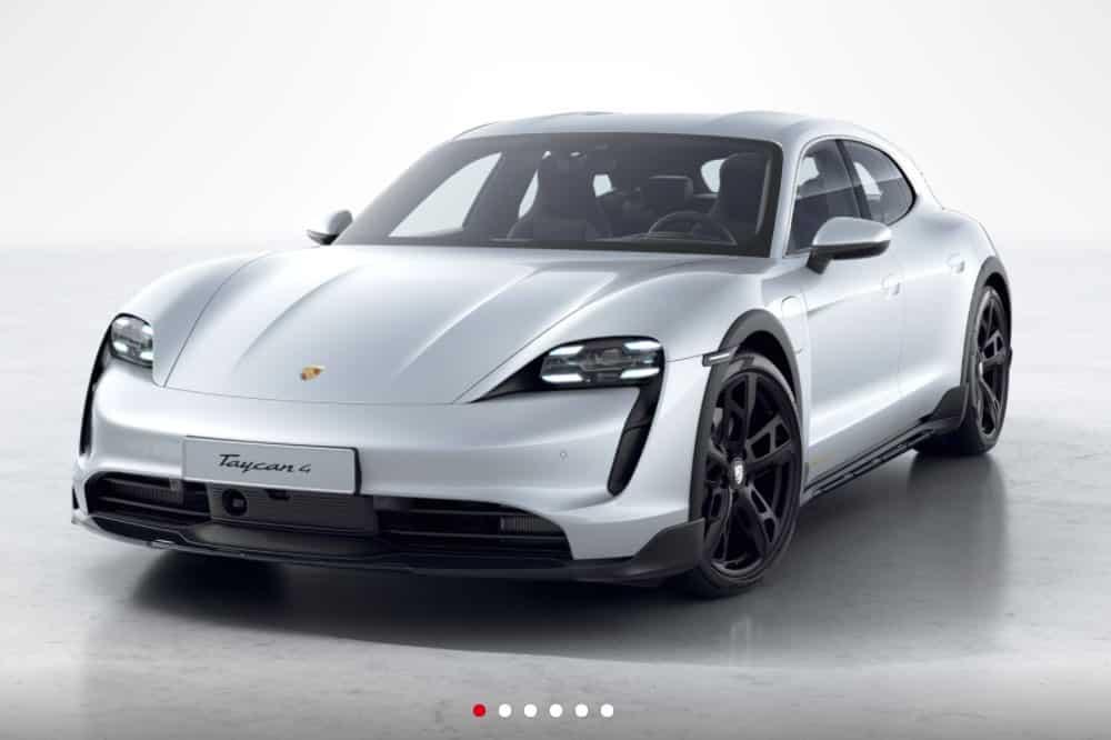 Porsche Taycan Cross Turismo Konfigurator
