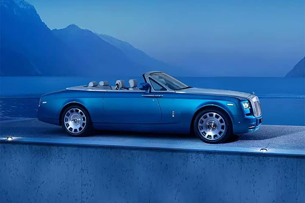 Rolls-Royce Drophead Coupé - very British!