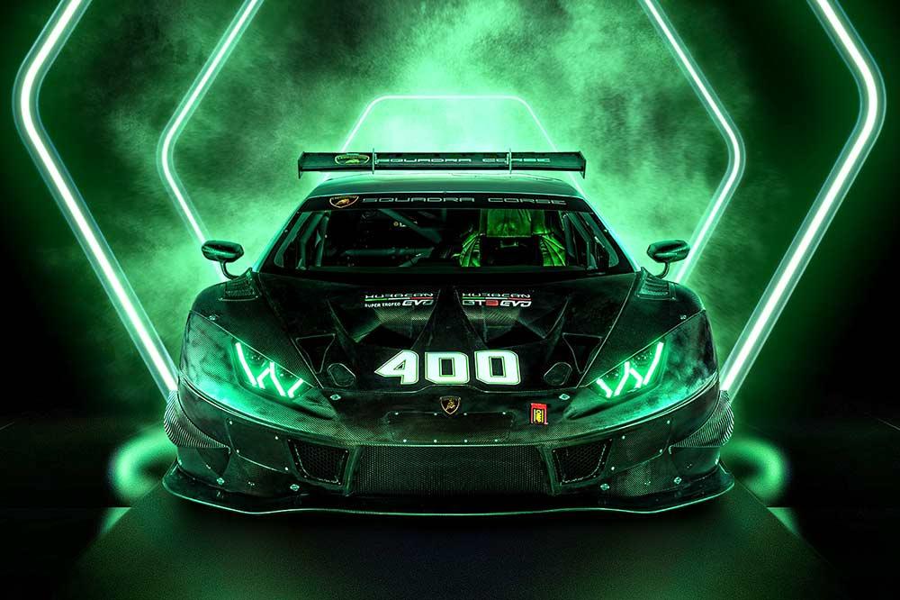 400 Lamborghini Rennwagen