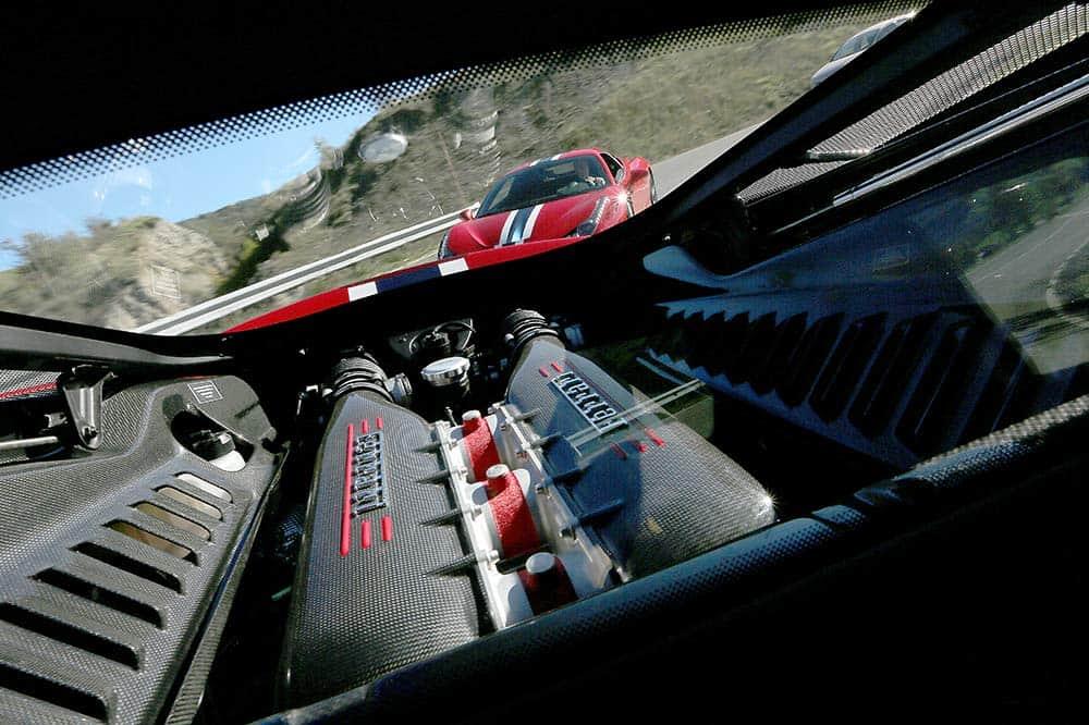 """Der V8 des Speciale beschleunigt ohne """"Luft zu holen"""" und ohne Turboloch"""